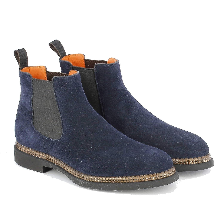 Santoni , Herren Stiefel Stiefel Stiefel Blau blau EU ca2a70