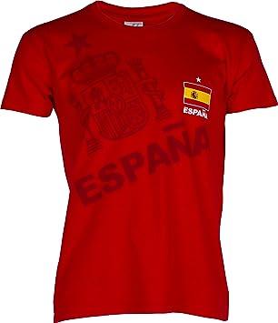 Camiseta para seguidores de la Selección española, talla de niño.: Amazon.es: Deportes y aire libre