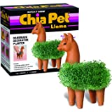 Chia CP439-01 Pet Llama Decorative Pottery Planter, Easy to Do and Fun to Grow