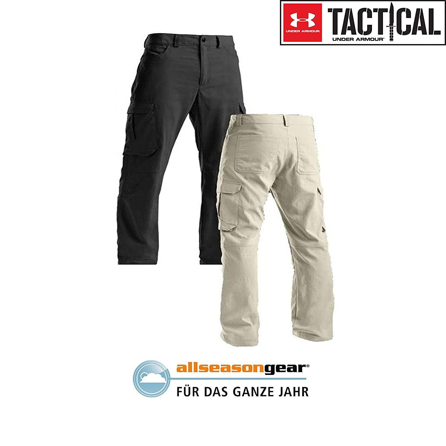 Tac Nylon Pantaloni Pantaloni Fitness e palestra Under Armour