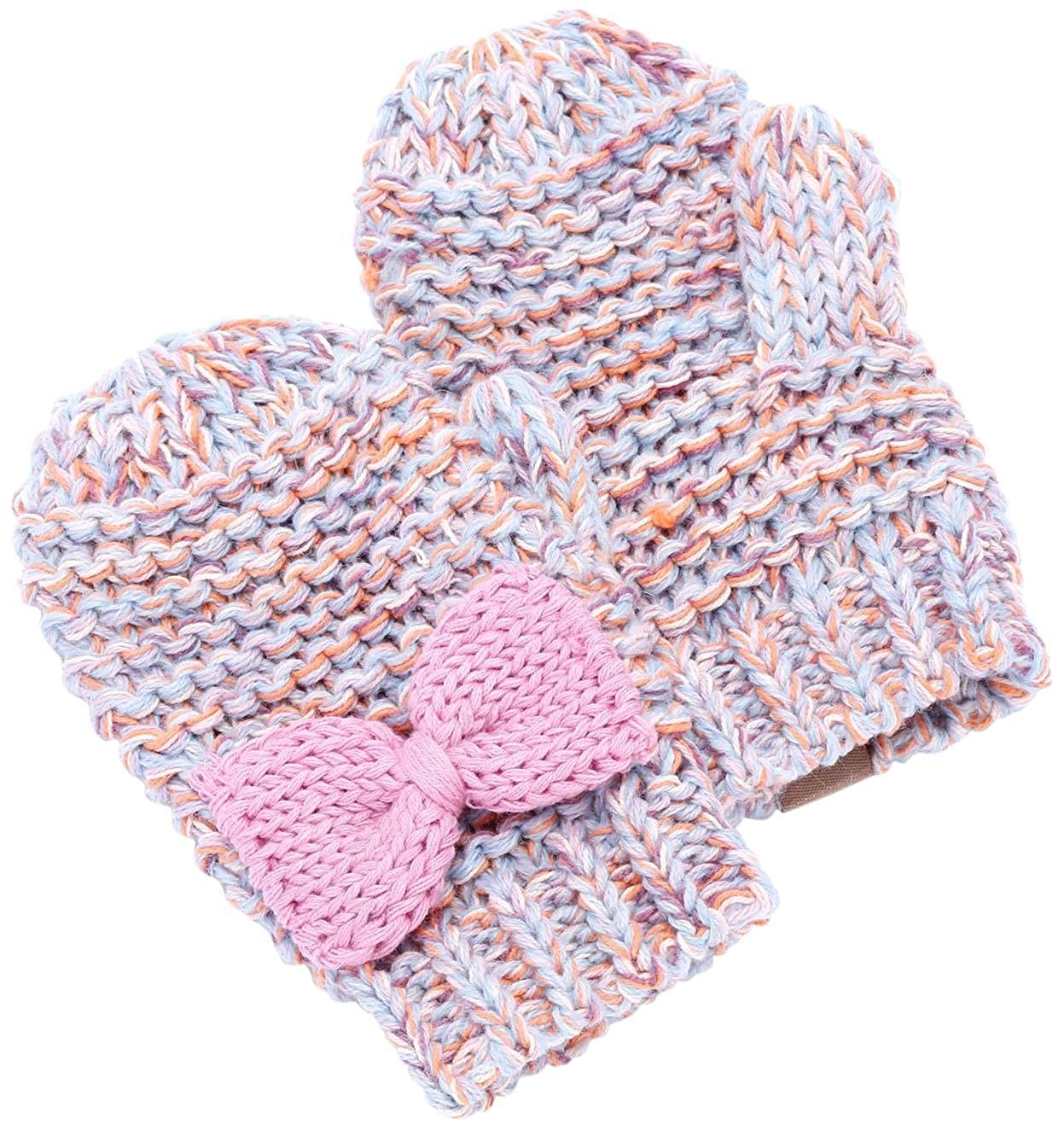 Peppercorn Kids Little Girls' Bow Mittens (Toddler)