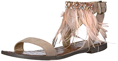 02fc0e938 Sam Edelman Women s s Genevia Flat Sandal  Amazon.co.uk  Shoes   Bags