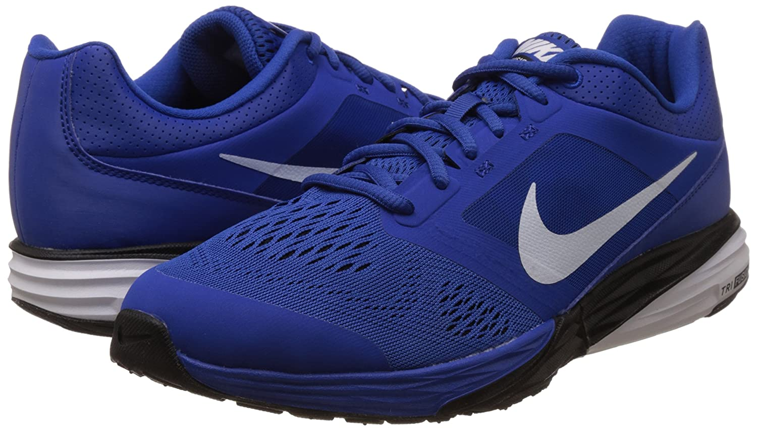 968de3a01459 ... release date nike mens tri fusion run msl game royal white and  blackrunning shoes 11 uk