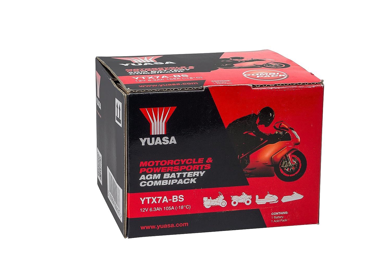 YUASA YTX7A-BS Batterie de Moto