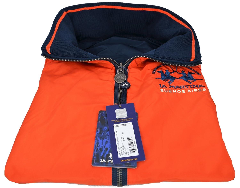 Chaqueta Reversible para Hombre La Martina Azul Marino Marino/Naranja: Amazon.es: Deportes y aire libre