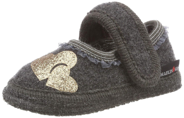 HAFLINGER Unisex Kids/' Twinkle Hi-Top Slippers