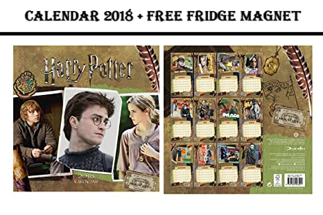 Calendario Dellavvento Harry Potter 2019.Harry Potter Official Calendario 2018 Harry Potter Iman