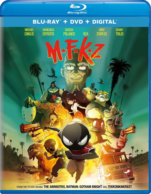Amazon.com: MFKZ [Blu-ray]: Michael Chiklis, Giancarlo ...