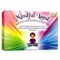 Mindfuland Therapy Cards Game for Kids - Meditation and Mindfulness Kit for Stress Reduction - A Calming Therapy Tool for Developing Anger Management - Great For Counselors, Families and Therapists