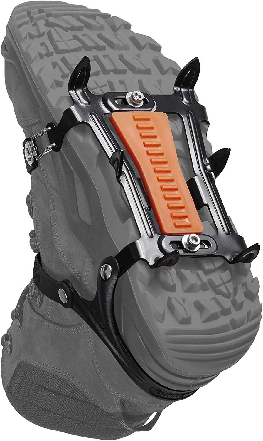 Hillsound Cypress6 - Ice Traction Device/Crampons, 6 Carbon Steel Spikes, 2 Year Warranty