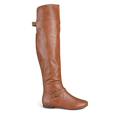 Brinley Co Women's Barn Over The Knee Boot | Over-the-Knee