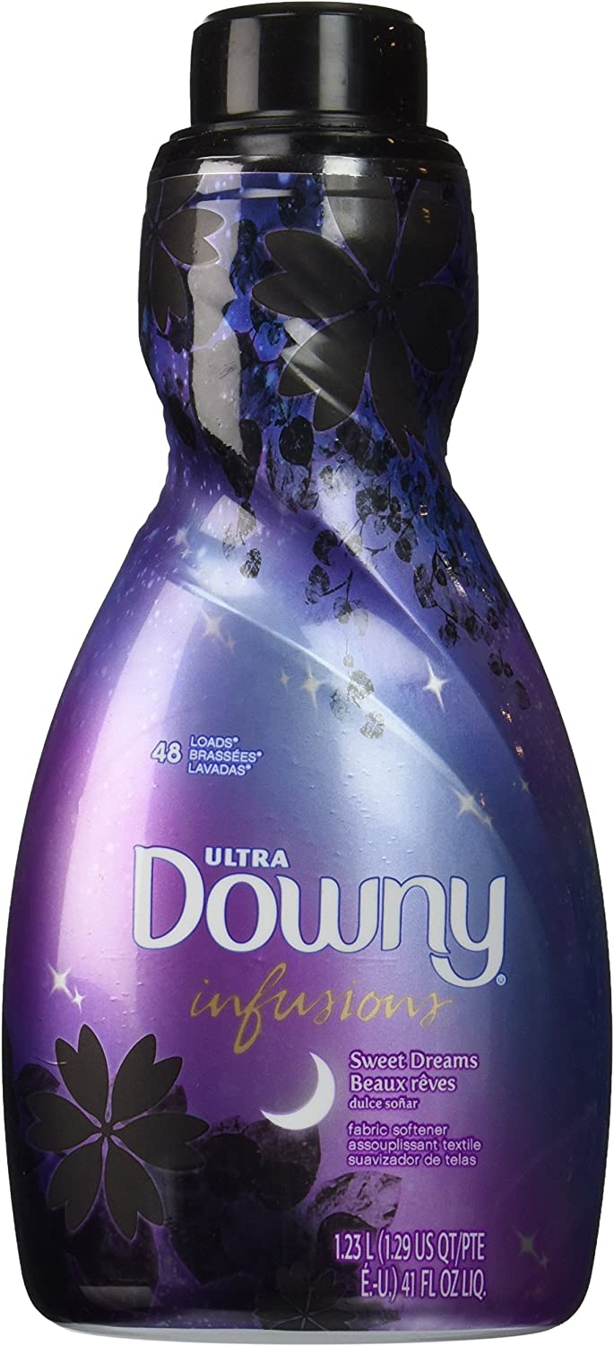 Downy Ultra Infusions Liquid Fabric Softener, Sweet Dreams, 41 Ounce