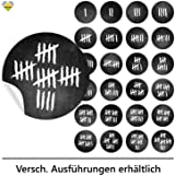 cute head 24 adventskalender zahlen aufkleber etiketten sticker kreidetafel. Black Bedroom Furniture Sets. Home Design Ideas