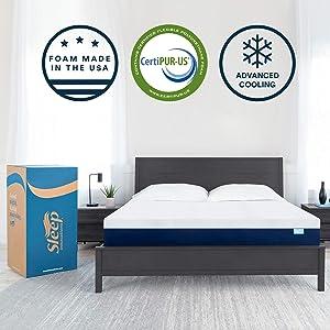 Sleep Innovations Marley 12-inch