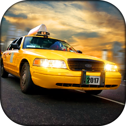 Taxi Driver Highway City Simulator 2017 3D free