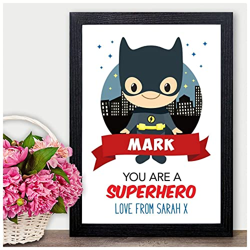 Batman Personalised Valentines Day Gifts For Him Boyfriend Husband