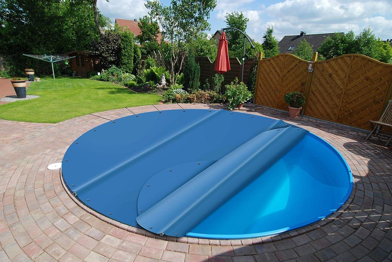 Winterplane f/ür Pool rechteckig bis 10 x 5 m Echtma/ß 11 x 6 m 200g//m/², gr/ün//schwarz