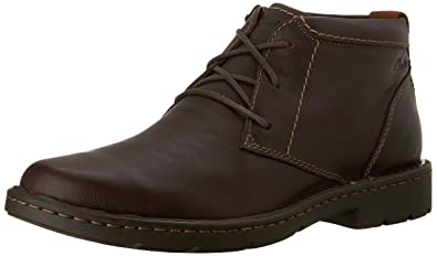Amazon.com | Clarks Men's Stratton Limit Chukka Boot | Chukka