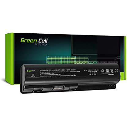 Green Cell® Standard Serie HSTNN-LB72 / HSTNN-IB72 Batería para HP G50 G51 G60 G61 G70 G71 HP Pavilion DV4 DV5 DV6 DV6T Ordenador (6 Celdas 4400mAh ...