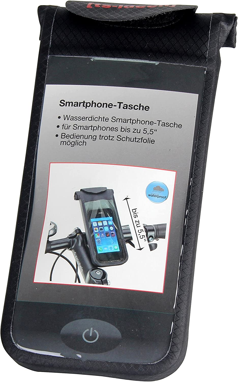 ts-ideen – Bolsa de manillar teléfono celular marco transparente ...