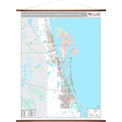 Amazon Com Marketmaps Palm Bay Melbourne Titusville Fl Metro Area