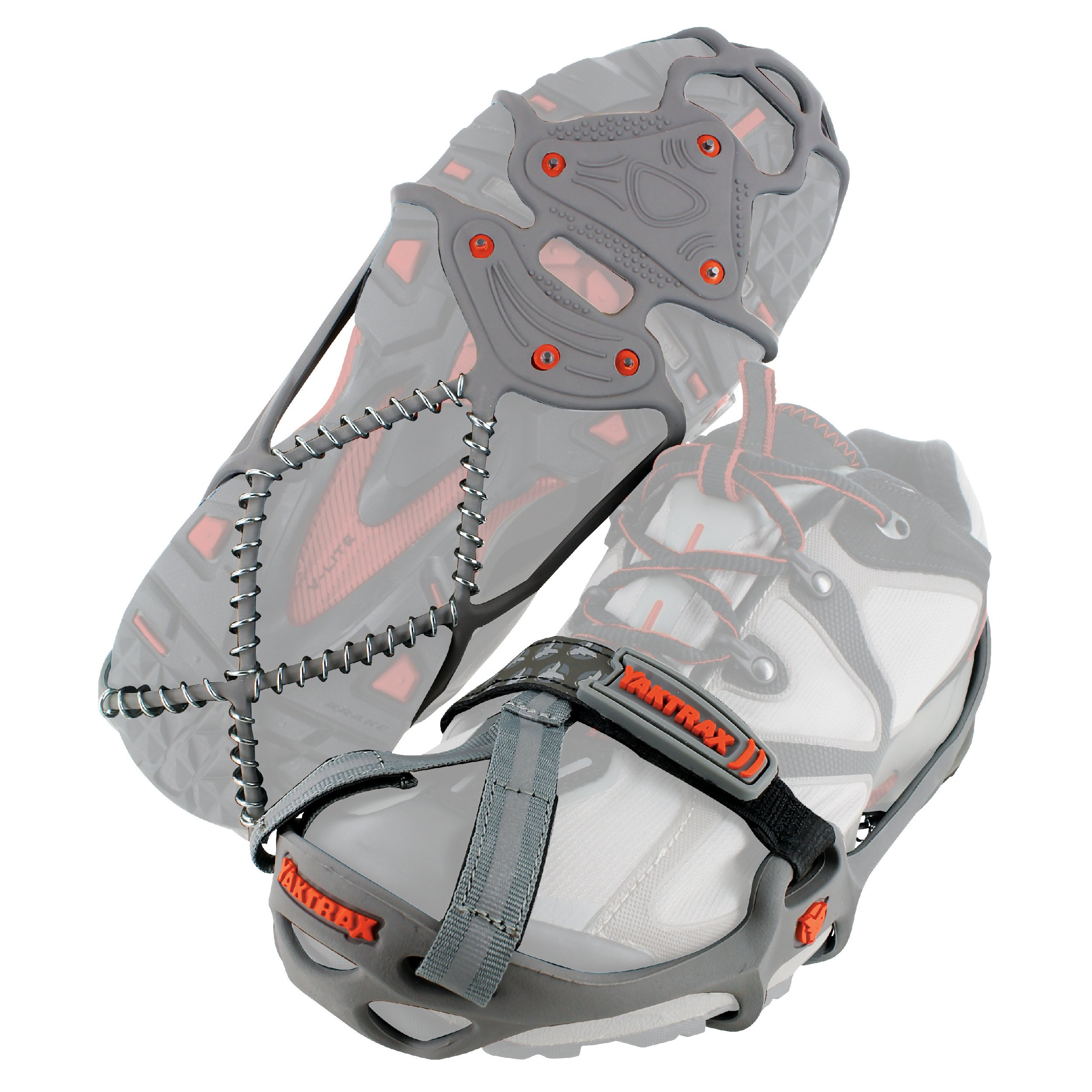 Yaktrax Run Traction Cleats for Running on Snow and Ice (1 Pair), Small