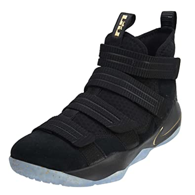 big sale f209b 33807 Nike Mens Lebron Soldier XI Basketball Shoe (13). Roll over image to zoom in