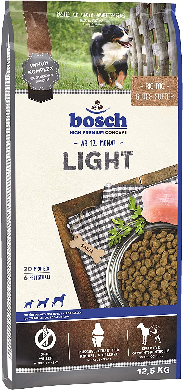bosch HPC Light | Comida seca para perros sobrepesados de todas las razas | 12,5 kg
