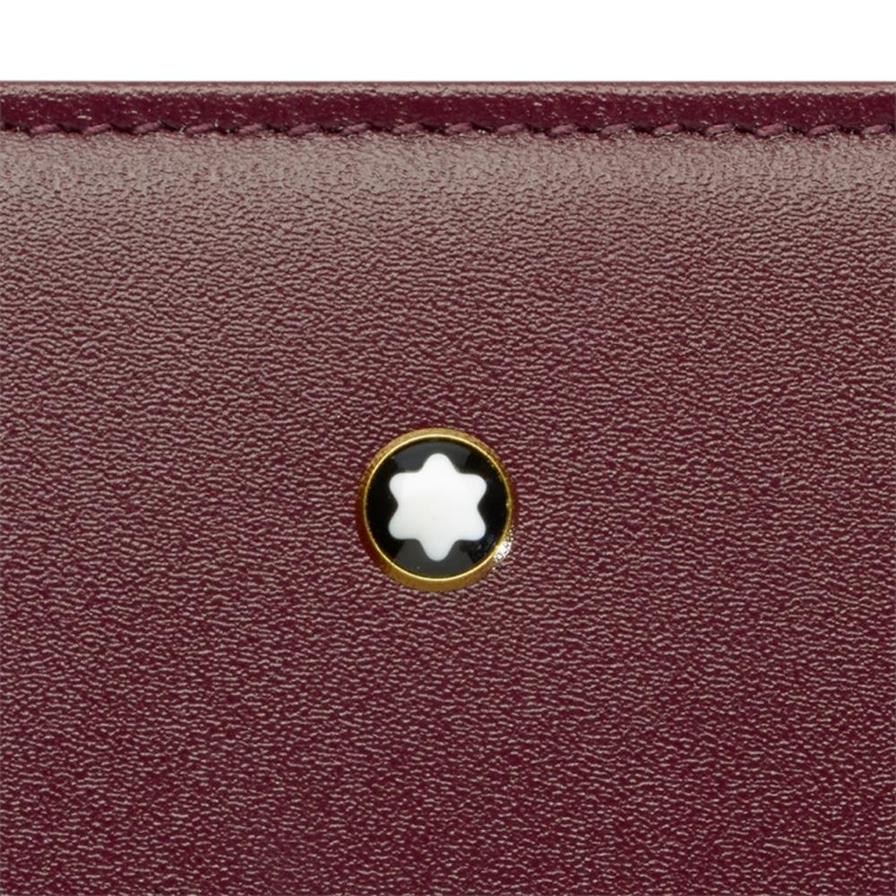 Montblanc Coin Purse, Burgundy red (red) - 114533 by MONTBLANC (Image #2)