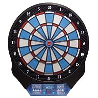 Dart elektrische Dartscheibe 12 Spieler 4 Displays Profigerät mit Netzteil