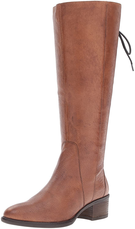 Steve Madden Woherren Laceupw Western Stiefel, Cognac Leather, 8 M US