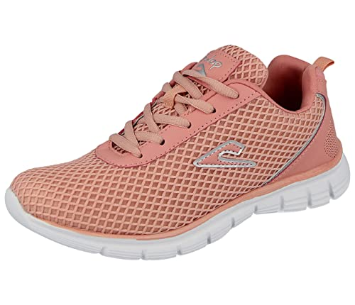 Womens Ladies Floral Sports Trainers Casual Walk Gym Lace up Pumps Shoes Size