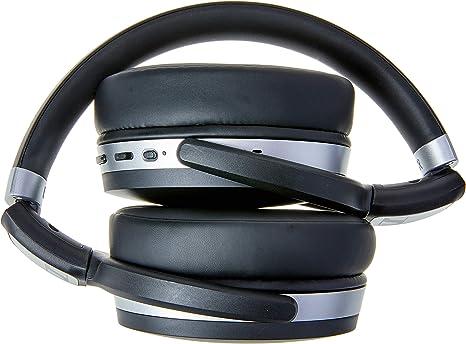 Sennheiser HD 4.50 BTNC Auriculares inalámbricos de Parte Trasera Cerrada con cancelación de Ruido, Color Negro y Plata