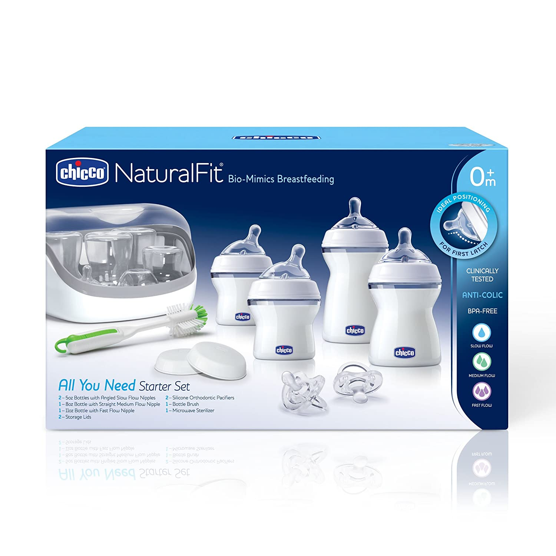 Amazon.com: Chicco naturalfit biberones All You Need Starter ...