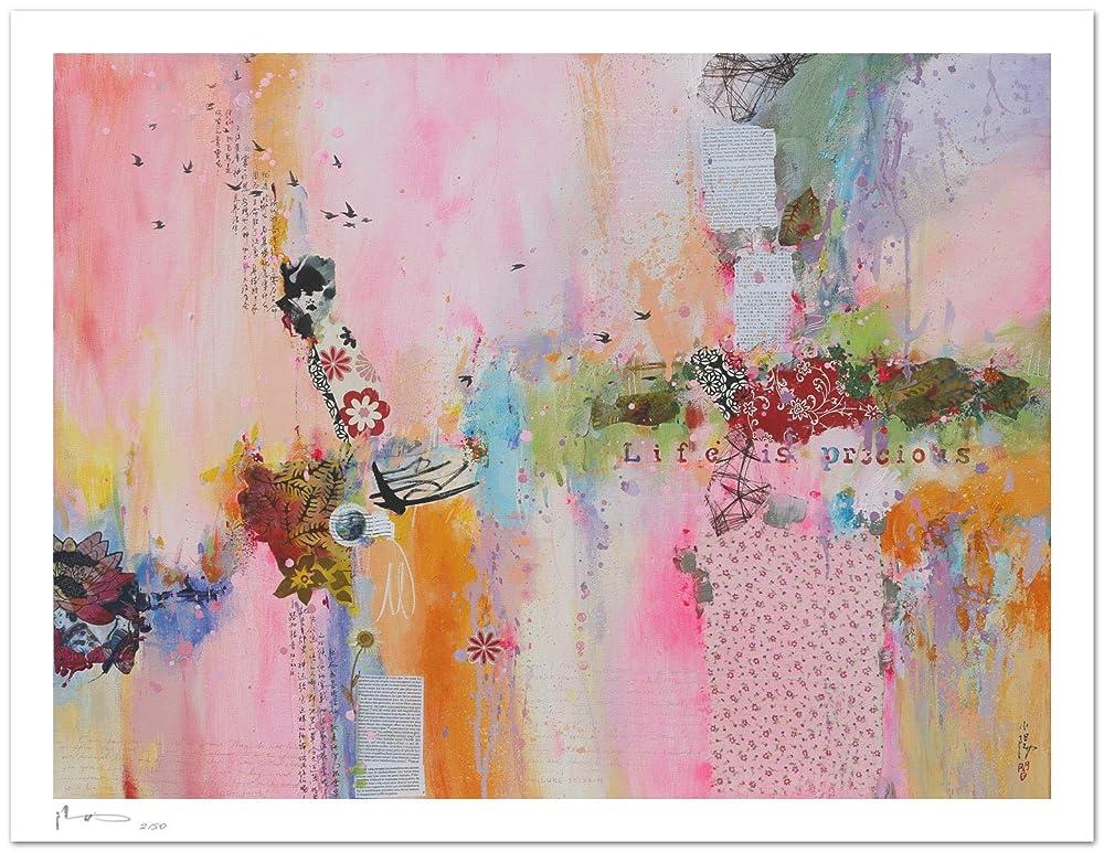 Reproducción de arte - Life is precious I - sobre papel de ...