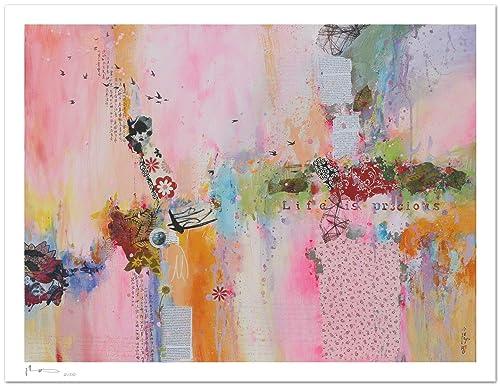 Reproducción de arte - Life is precious I - sobre papel de acuarela 300g/m² con textura, de alta calidad: Amazon.es: Handmade