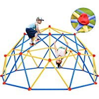 Merax Dome Climber, 10FT Jungle Gym Indoor & Outdoor Toys for Kids 3-12 Supporting 1000lbs, Easy Assembly Backyard…