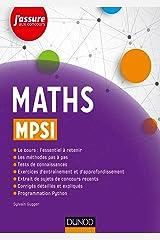 Maths MPSI (J'assure aux concours) (French Edition) Paperback