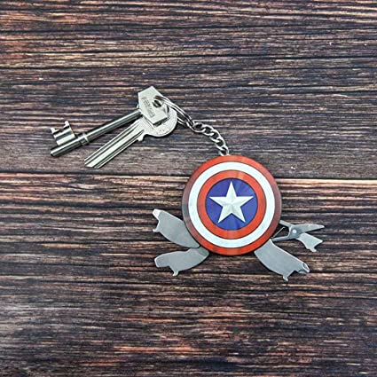 Amazon.com: Marvel Avengers Captain America Shield Multi ...