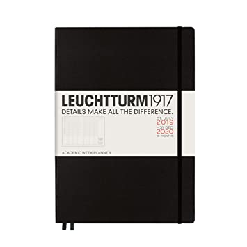 Amazon.com: Leuchtturm1917 Master A4 Plus 2020 - Agenda ...