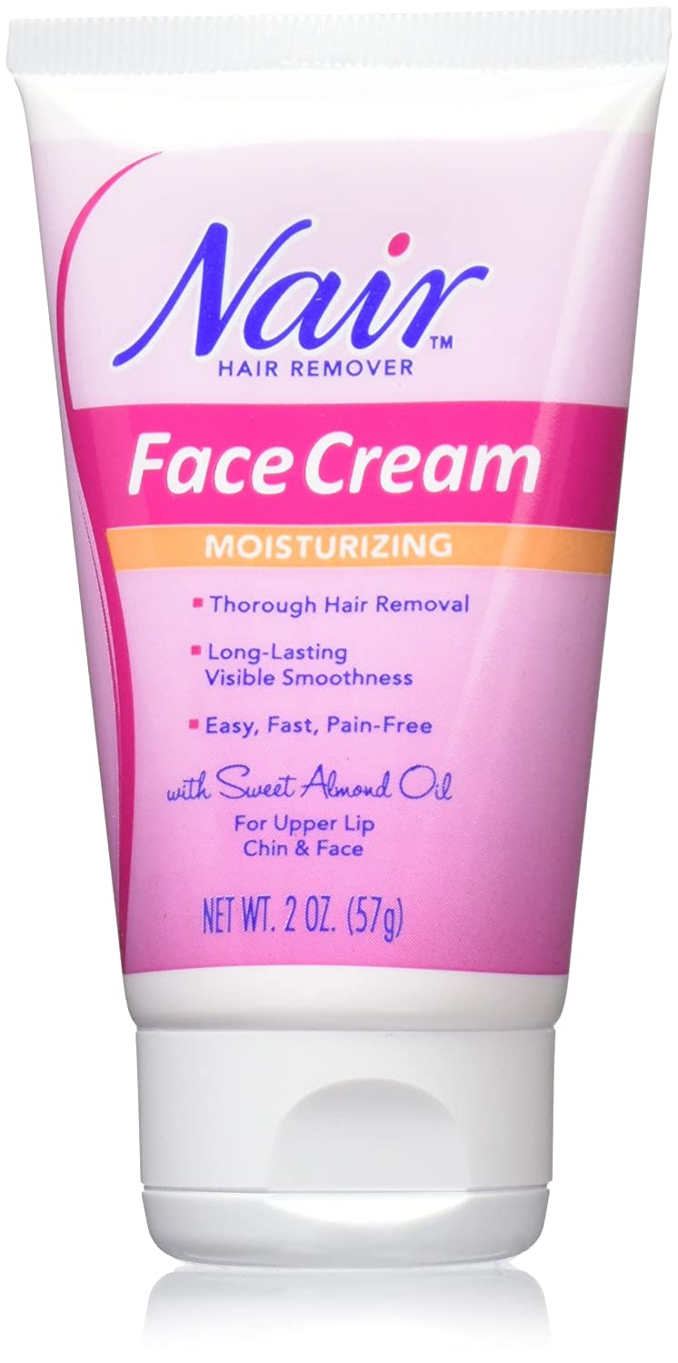 Amazon Com Nair Hair Remover Moisturizing Face Cream Hair