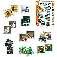 Diset- Memory Animales Fotos + 3 años Juguete