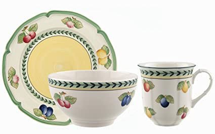 Villeroy u0026 Boch French Garden 12-Piece Set Service for 4  sc 1 st  Amazon.com & Amazon.com | Villeroy u0026 Boch French Garden 12-Piece Set Service for ...