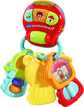 Amazon.com: VTech Drive & Discover Baby Keys: Toys & Games