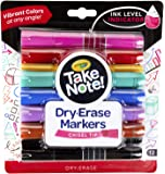 Crayola Low Odor Dry Erase Markers, Chisel Tip, Assorted Colors, Back To School Supplies, 12Count