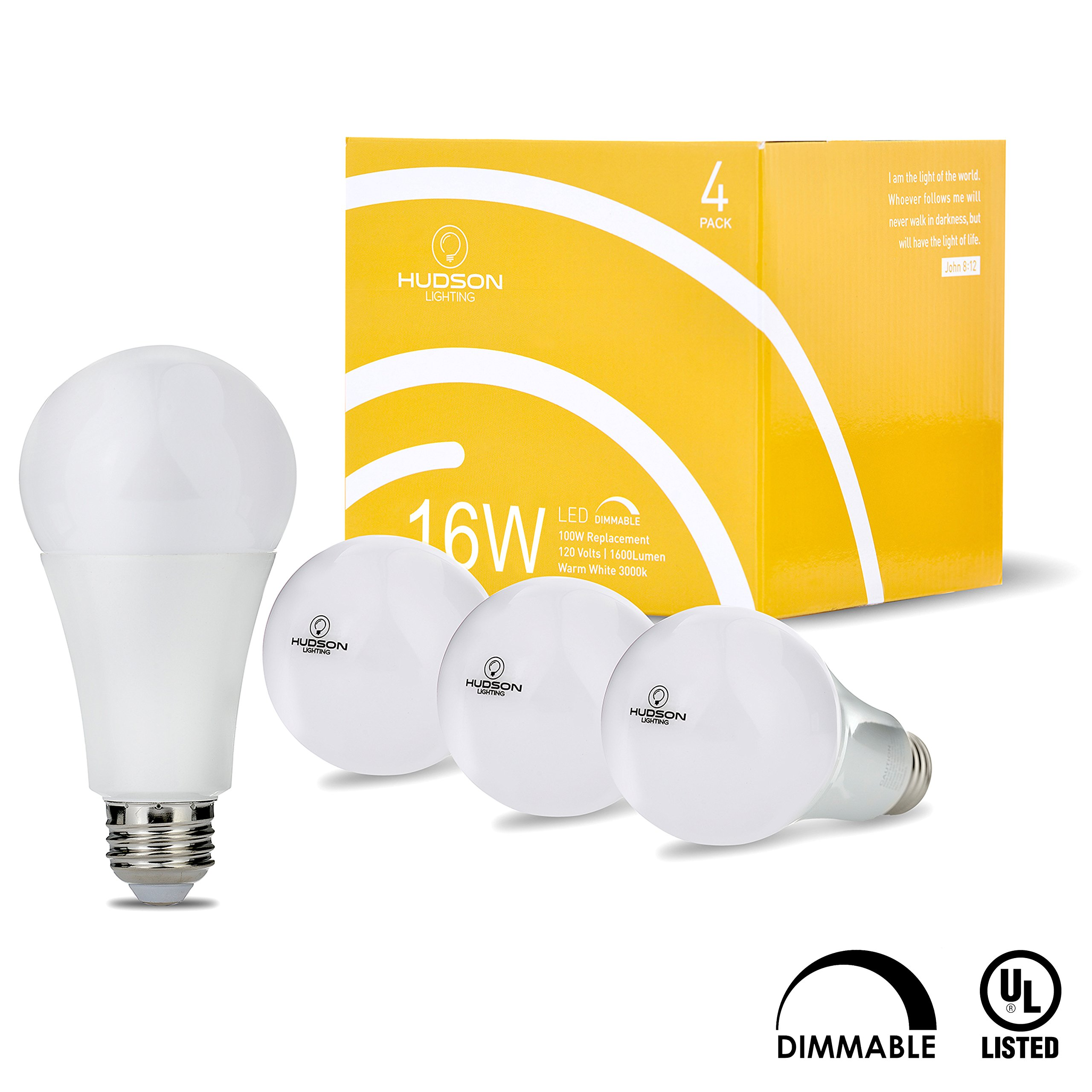 LEDesign HA21, DimmablSmart, Wi-Fi, LED Bulbs, A60, Dimmable, Smartphone Controlled Daylight & Night, Home Lighting, Compatible with Alexa