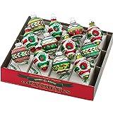 Amazon.com: Shiny Brite - Confeti de Navidad de 3.2 in con ...