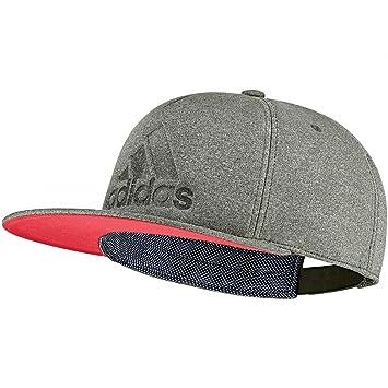 adidas Fi Flat Cap Gorra de Tenis, Hombre, Verde-(carnoc/rojbas), OSFL