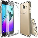 Custodia Galaxy A5 2016, Ringke [FUSION] Crystal Clear PC Back TPU [Protezione goccia / assorbimento di scossa Tecnologia] [Dust Cap allegato] Per Samsung Galaxy A5 2016 - Crystal View