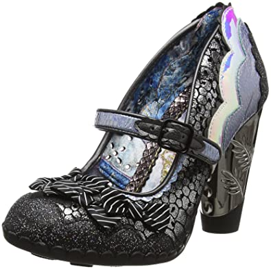 Wester Chester, Mary Janes Femme, Noir (Black A), 40 EUIrregular Choice
